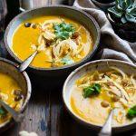 Супа от печене карфиол